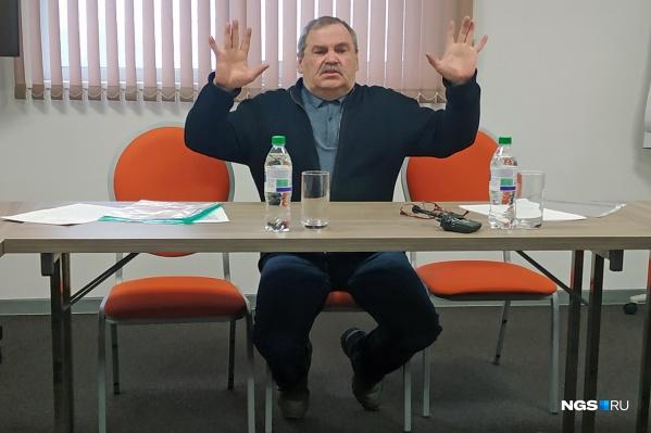 Директор новосибирского цирка Сергей Шабанов