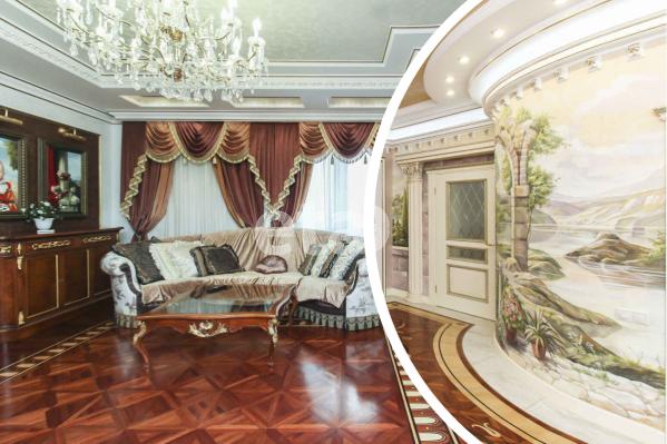 В многоэтажном доме скрывается квартира, которая больше напоминает дворец