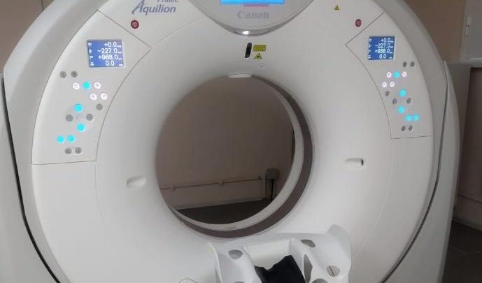 В омской поликлинике появился новый томограф за 58 миллионов рублей