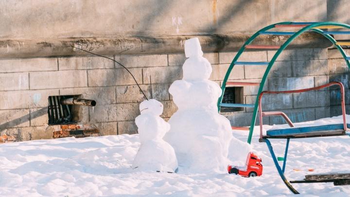 В Омске к 8 марта потеплеет почти до нуля