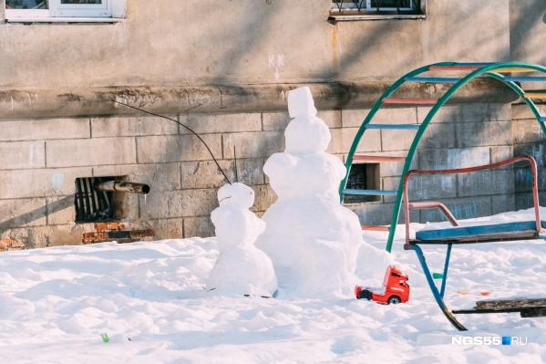 В ближайшие дни в Омске опять установится весенняя погода: воздух прогреется почти до нуля градусов