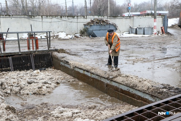 Единственная станция снеготаяния в Нижнем Новгороде находится на улице Надежды Сусловой