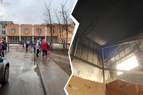 Пожар в переславской школе начался во время первого урока