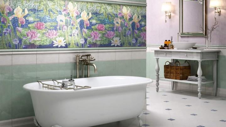 «Сад Моне» или «Королевская дорога»: на 16 красивых коллекций керамической плитки и керамогранита снизили цены
