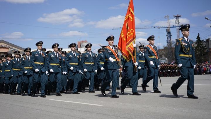 Центр города перекроют на семь часов для парада Победы