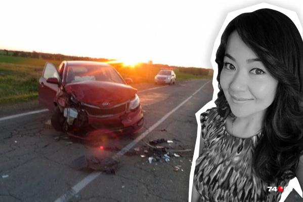 В смертельной аварии, которую устроил пьяный водитель KIA Rio, погибла 31-летняя Алия Ахметкаримова