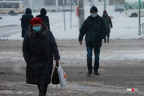По приросту зараженных Архангельск отстал от Северодвинска. Зато заболеваемость растет в Новодвинске