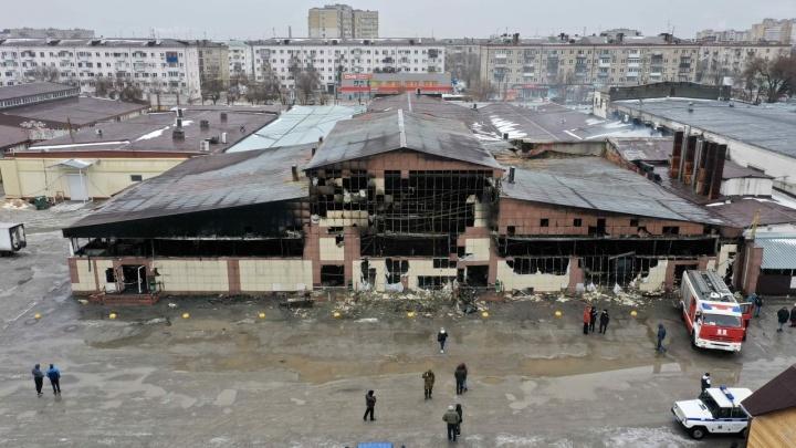 В Волгограде при пожаре на Титовском рынке пострадали 28предпринимателей