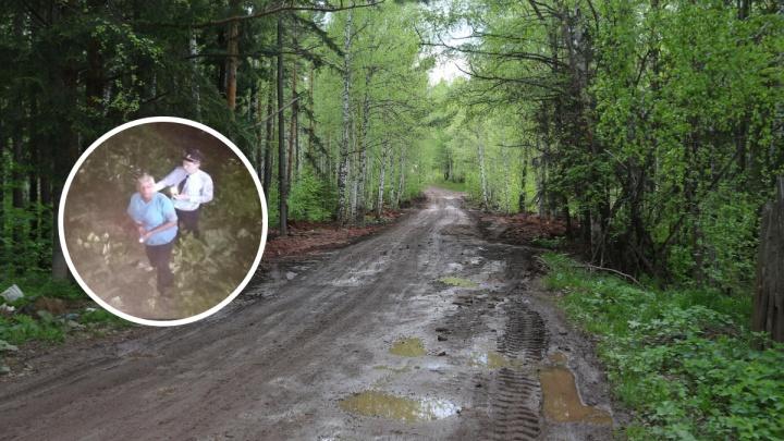 Пенсионерка ушла в лес за черемшой и потерялась. Ее искали с ракетницами и громкоговорителями
