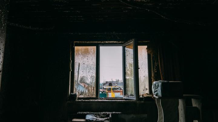 В Старом Кировске произошёл крупный пожар — мы взглянули на то, что осталось от жилых квартир