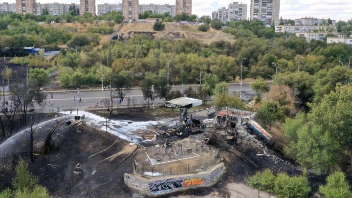 В Волгограде обследовали жилые дома в зоне взрыва на АЗС