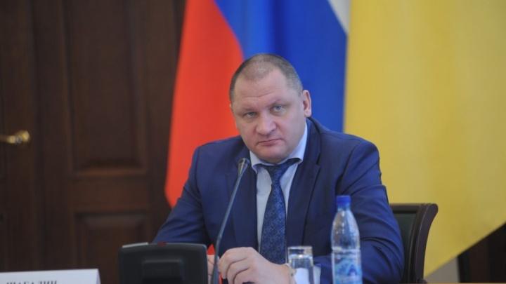 На ярославского замгубернатора Андрея Шабалина подали заявление в СКР