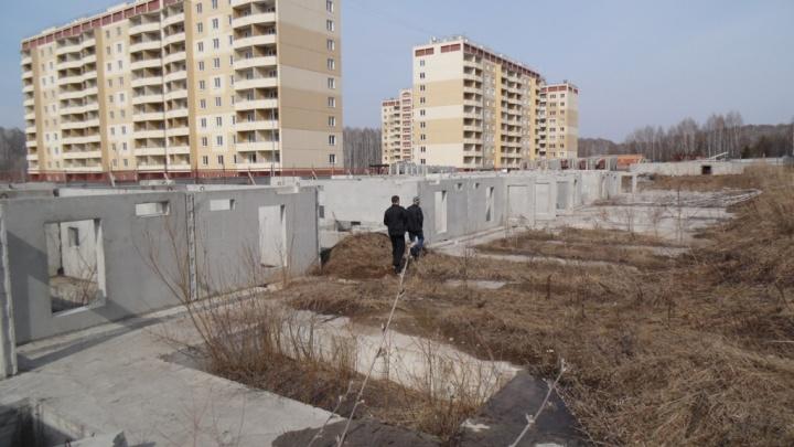 В Каинской Заимке выставили на продажу участок у озера: раньше там строил девелопер, попавший за решётку