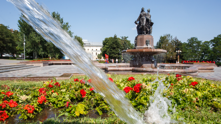 В Волгограде устоялась 35-градусная жара