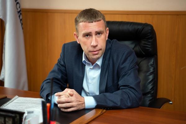 Директор УК «Чкаловская» Дмитрий Козлов