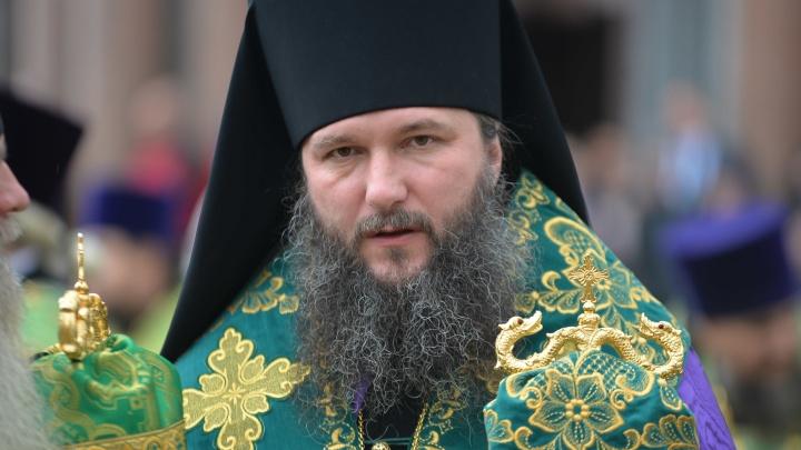 Новый глава Екатеринбургской епархии проводит первое богослужение в Храме на Крови