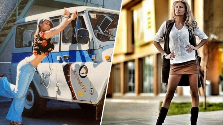 Одна на полицейском «УАЗике», другая в кабриолете. Показываем звездных тюменок до дикой популярности