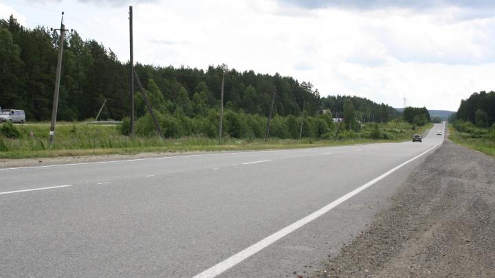 На Серовском тракте отремонтируют участок дороги в районе Нижнего Тагила