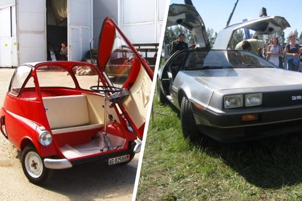Некоторых машин, которые запечатлел Дмитрий, в России всего единицы