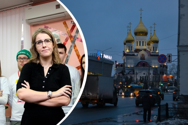 Ксения сегодня утром начала публиковать виды Архангельска, сообщив подписчикам, что приехала в командировку