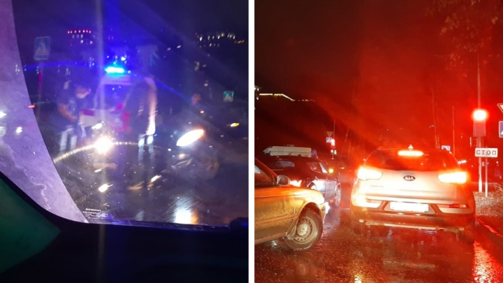 В Центральном районе водитель «Фольксвагена» сбил пенсионерку на пешеходном переходе