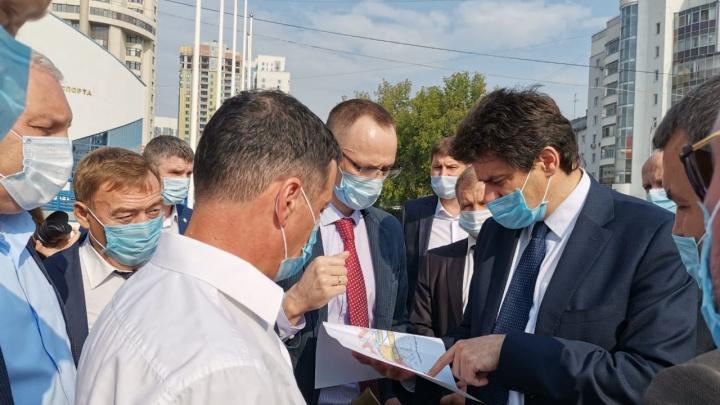 План по строительству продолжения улицы Никонова оказался под угрозой