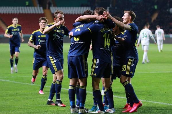 Ростовчане открыли счет в конце первого тайма