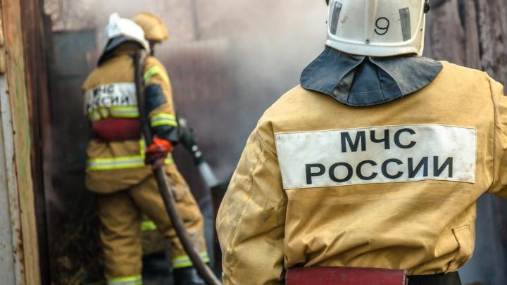На Новокуйбышевском НПЗ вспыхнул пожар