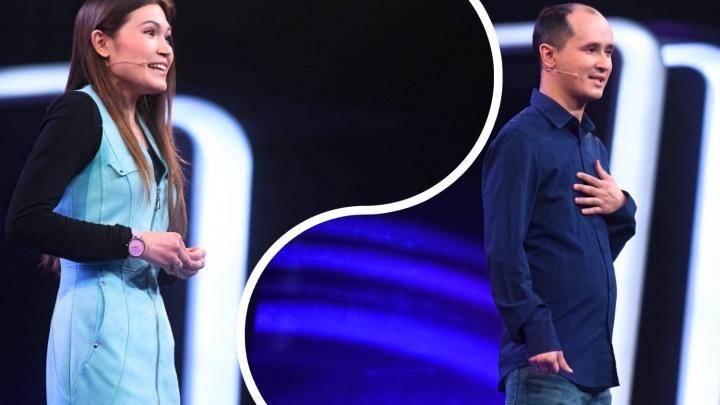Семью из Тюмени показали в Comedy Баттл. Девушка шутила лучше и вытащила мужа в полуфинал