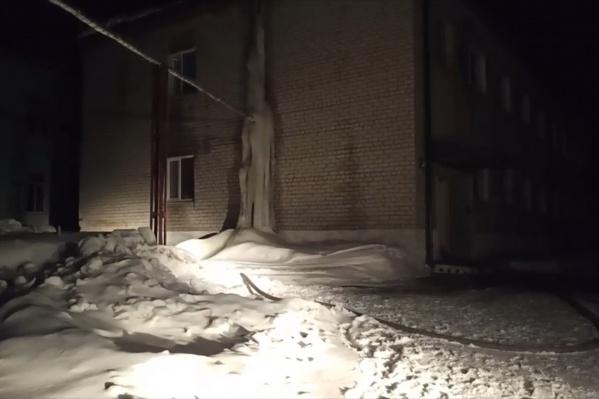 Пожар случился в селе Бутка