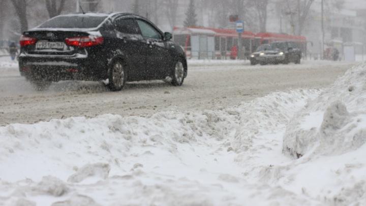 В Самаре выпала почти месячная норма снега