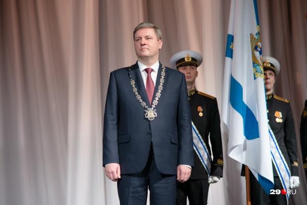 Дмитрий Морев вступил в должность сегодня
