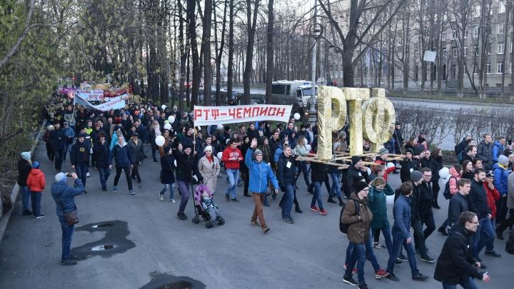 Ежегодное шествие студентов радиофака УрФУ из-за коронавируса проведут в «Яндекс.Картах»