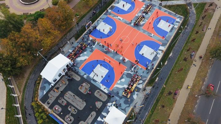 В Туле открылся первый в России Центр уличного баскетбола