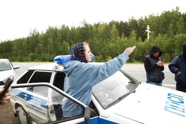 Конфликт произошел на территории монастыря, когда Собчак снимала сюжет для своего канала