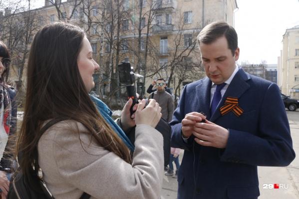 Врио губернатора ответил на вопросы 29.RU в прямом эфире