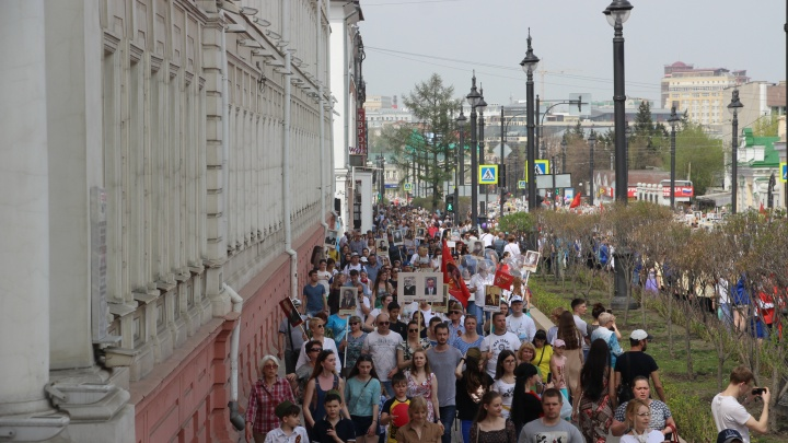 «Бессмертный полк» в Омске пройдёт в онлайн-режиме. Рассказываем, как попасть в его ряды