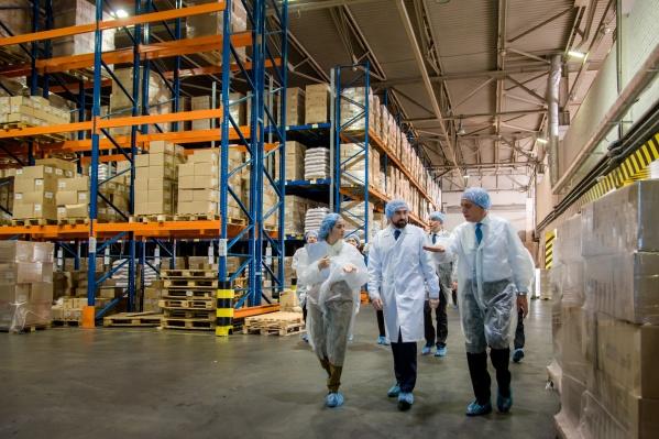 Строительство нового логистического комплекса — одна из стратегических задач компании «Макфа»