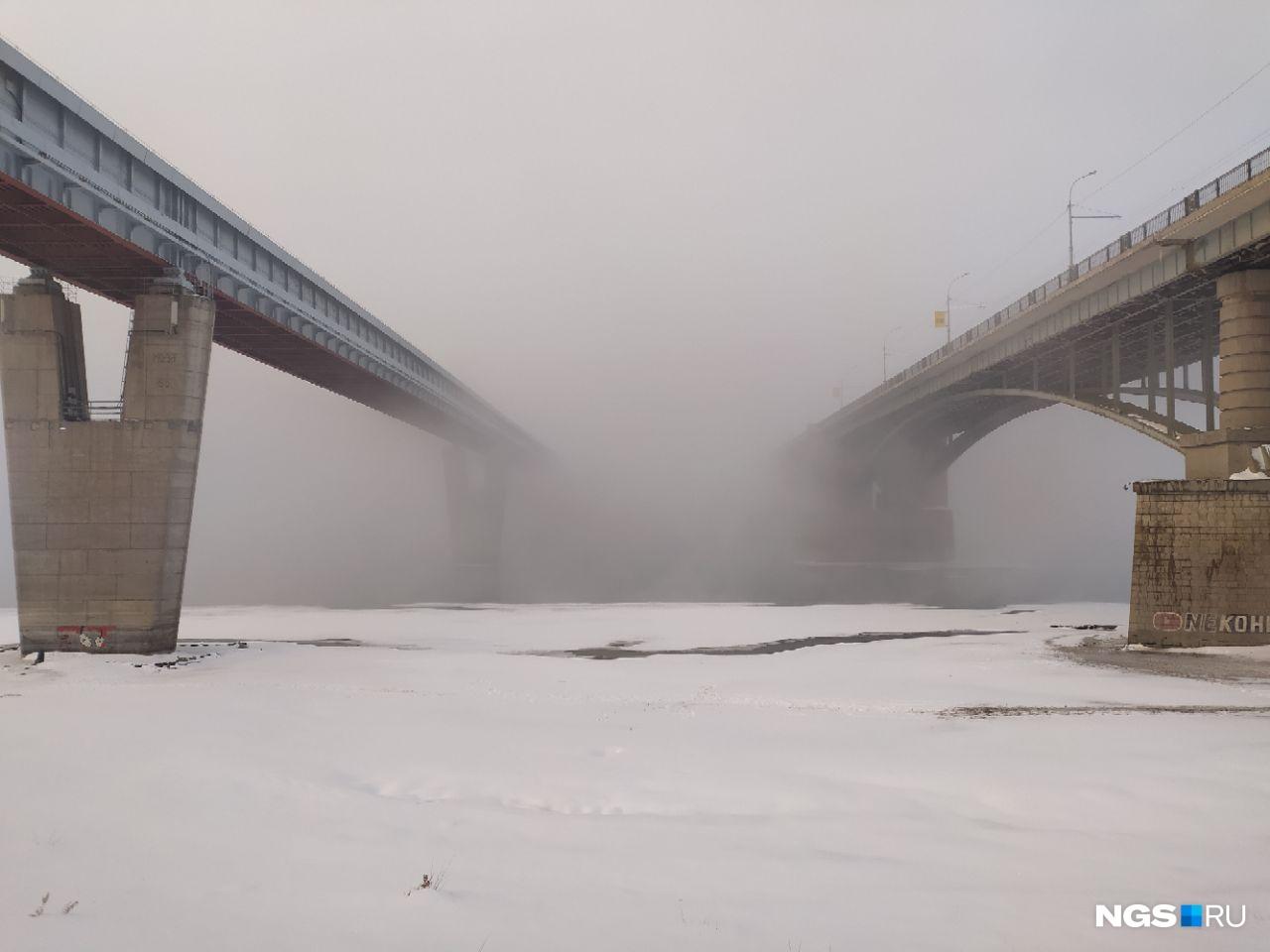 Немного фотографий тумана от нашего фотографа