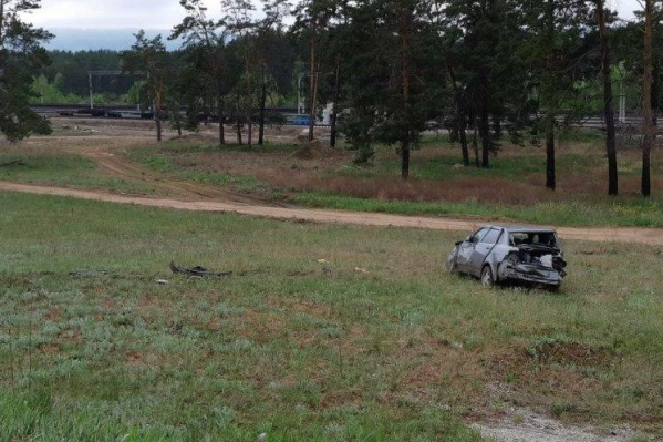 Силовики обнаружили машину довольно далеко от проезжей части