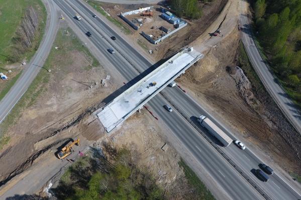 Так обновленный мост выглядит с высоты птичьего полета
