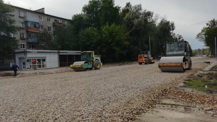 В Ярославле на Тутаевском шоссе перекроют ещё один участок дороги и закольцуют автобусы