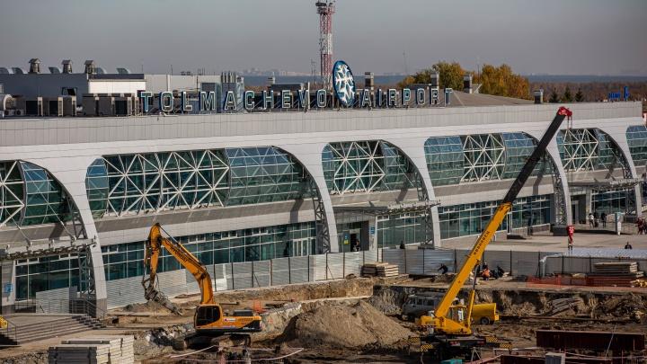Грандиозная перестройка Толмачёво. Как строят новый терминал за 14 млрд по проекту главного архитектора Москвы