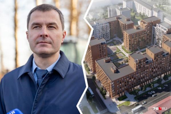 В мэрии Ярославля уверяют, что у Владимира Волкова в сделке нет семейных интересов