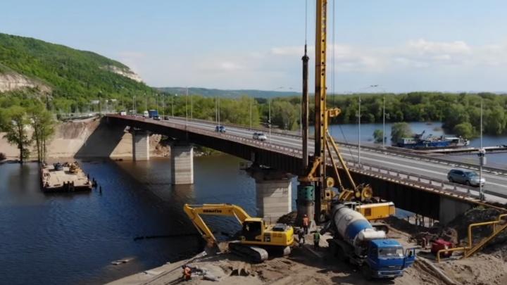 Приступить к монтажу пролетов нового моста через Сок планируют летом