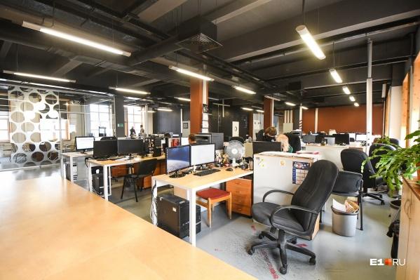 Работа над дизайном нового офиса началась в 2015 году