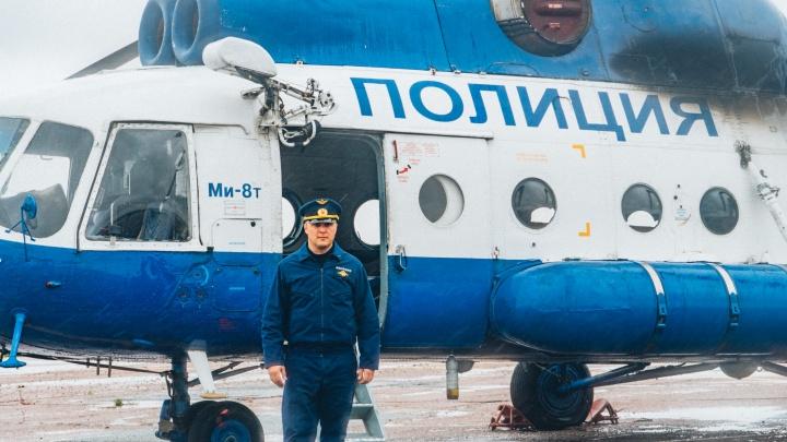 Омич рассказал о работе пилотом на вертолёте Росгвардии