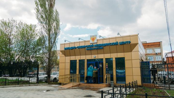 Омская больница вернулась к работе с коронавирусными больными