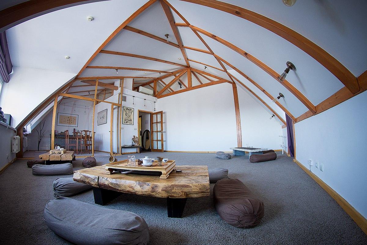 Так выглядит чайная комната