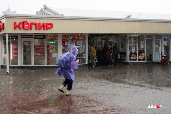 Возможно, что дожди дойдут и до Ростова